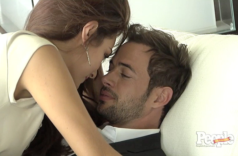 William Levy, Ximena Navarrete, La tempestad, People en Español