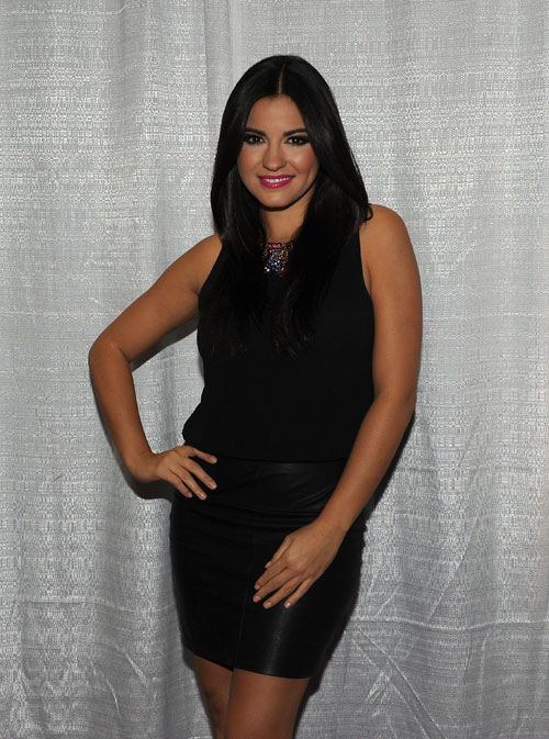 Maite Perroni, Festival People 2013, Backstage