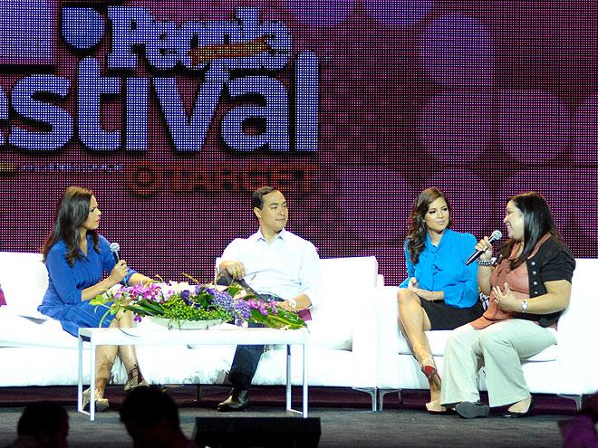 Soledad O'Brien, Joaquín Castro, Pamela Silva-Conde, Benita Veliz
