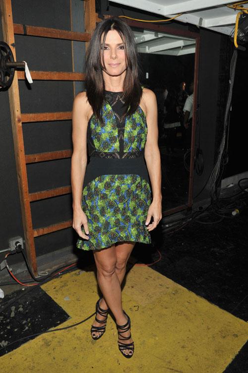 Sandra Bullock, El look del día