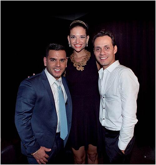 """Natalia Jiménez, Tito """"El Bambino"""", Marc Anthony, Míralos"""
