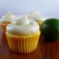 Cupcakes sabor lima-limón