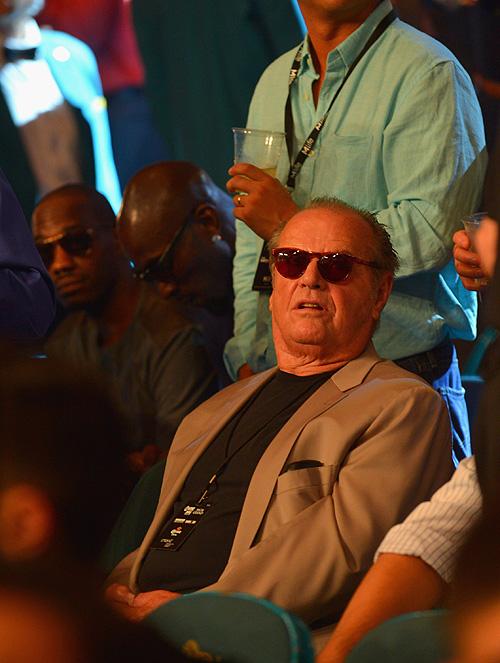 Canelo, Mayweather, pelea, fight, Jack Nicholson