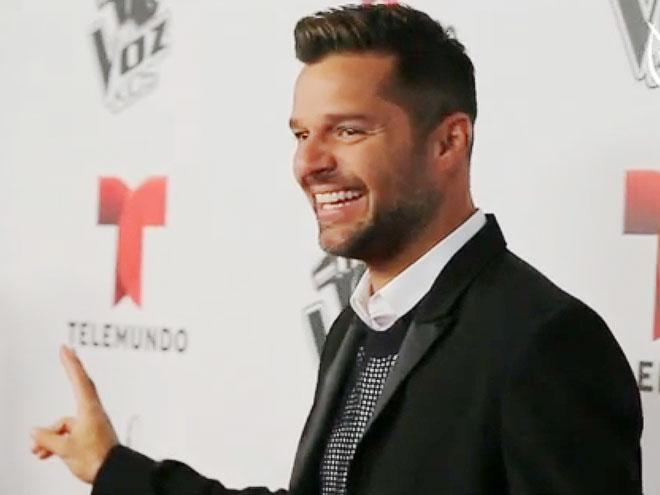 Ricky Martin, La Voz Kids