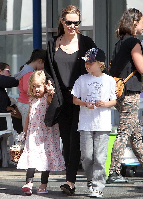 Angelina Jolie, Shiloh Jolie-Pitt, Vienne Jolie-Pitt