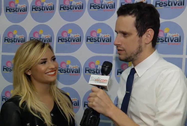 Demi Lovato, Festival People en Español