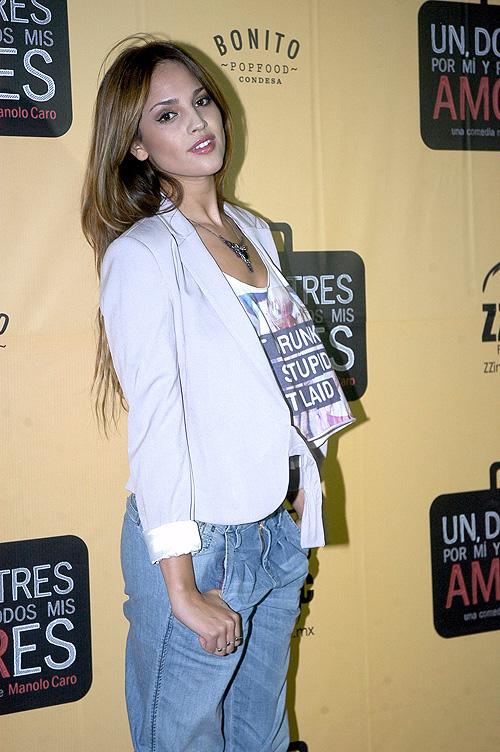 Eiza González, evolución