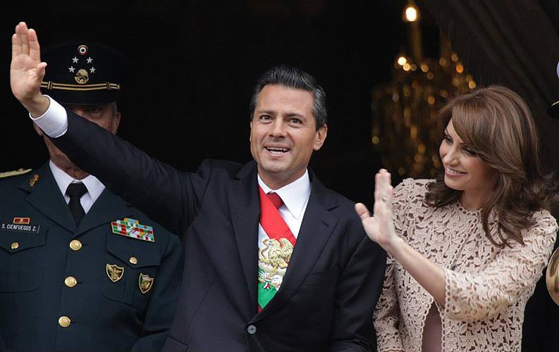 Enrique Peña Nieto, Angélica Rivera, desfile, independencia, Míralos