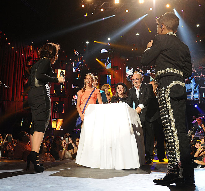 Gloria Estefan, concierto festival People en español 2013
