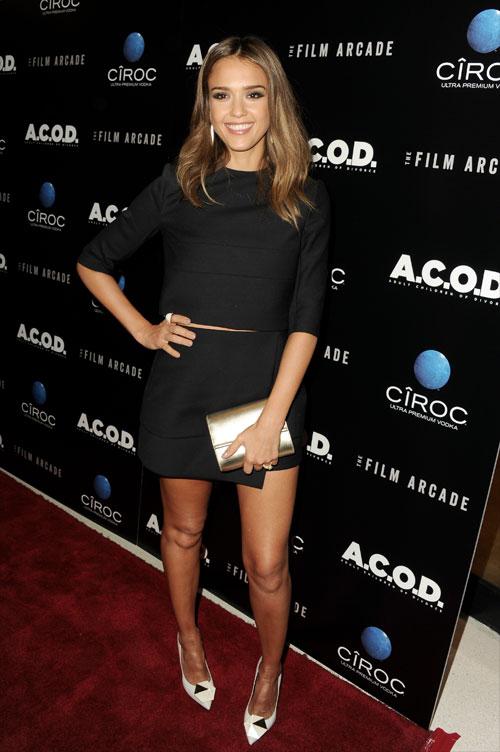 Jessica Alba, El look del día