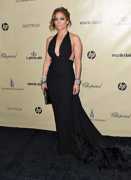 Jennifer López, El look del día