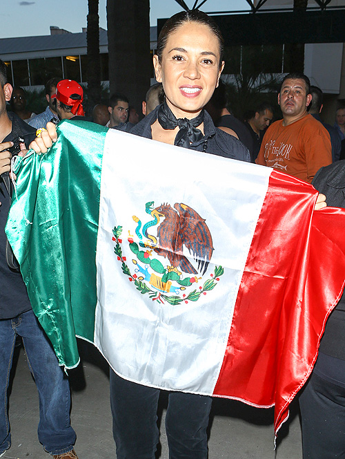 Canelo, Mayweather, pelea, fight, Yolanda Andrade