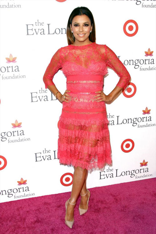 Eva Longoria, El look del día