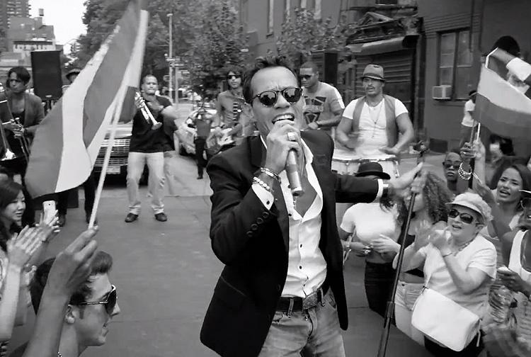 Marc Anthony, video, Vivir mi vida