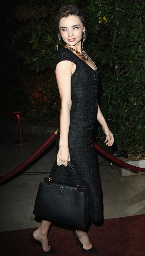Miranda Kerr, El look del día