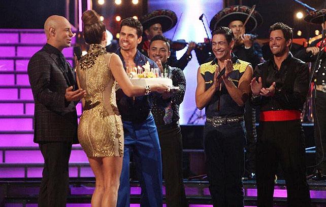 Mira quién baila, Ninel Conce, cumpleaños, Pedro Moreno, Johnny Lozada, Mane de la Parra, Manny Manuel
