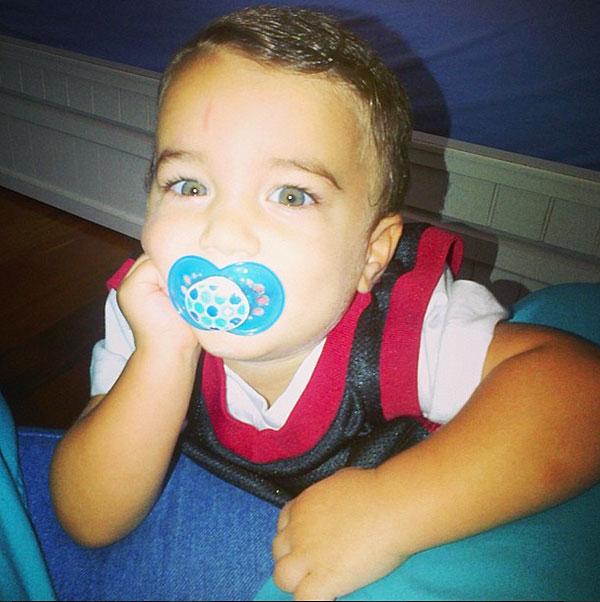 Nickolas, hijo, Jencarlos Canela, Gaby Espino