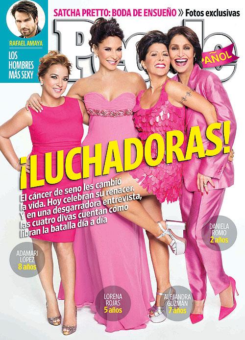 Portada octubre 2013, People en Español, Daniela Romo, Adamari López, Lorena Rojas, Alejandra Guzmán