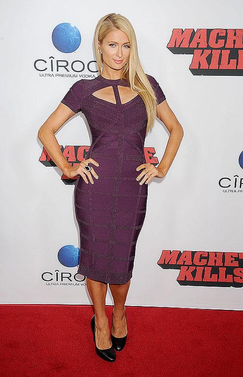 Paris Hilton, El look del día