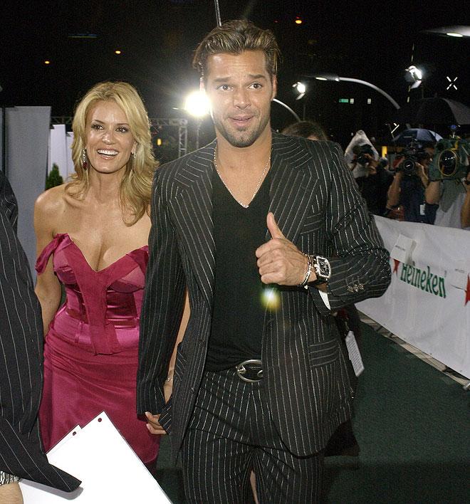 Rebecca de Alba, Ricky Martin