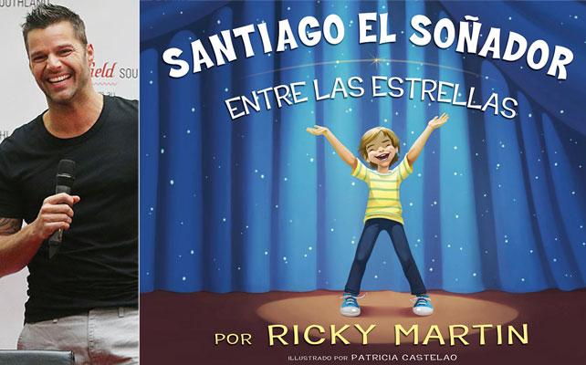 Ricky Martin, libro, santiago el soñador