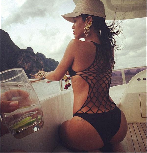Rihanna, bikini, Tailandia