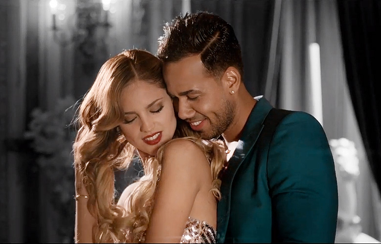 Romeo Santos, Eiza González, propuesta indecente, video
