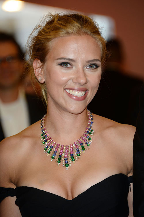 Tendencias para el otoño, Scarlett Johansson