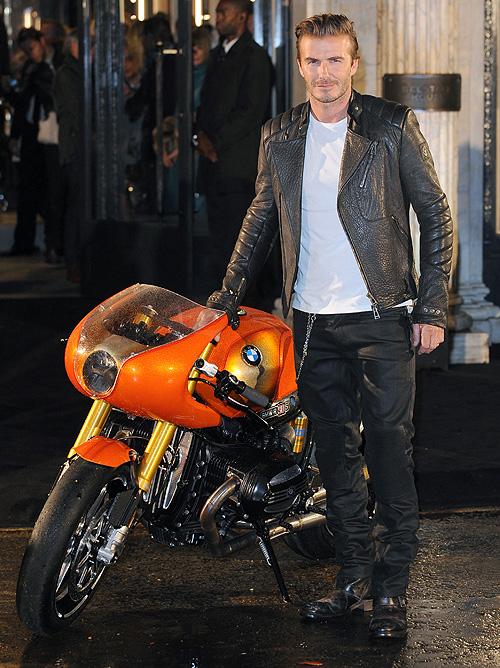David Beckham, miralos, moto