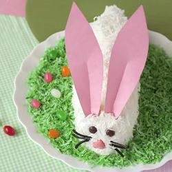 Pastel conejo de Pascua