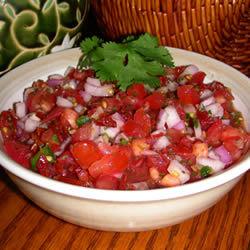 Salsa mexicana con ajo