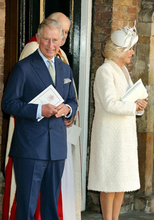 Príncipe Charles, Camilla, Bautizo real