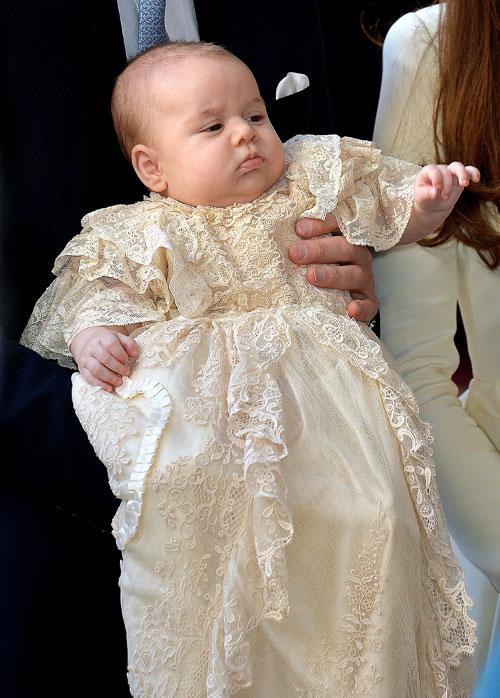Príncipe George, bautizo real