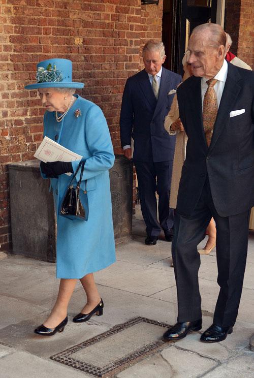 príncipe Philip, reina Elizabeth II, bautizo real