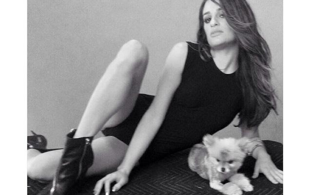 Lea Michele, Pearl, perrita, perrito, mascota