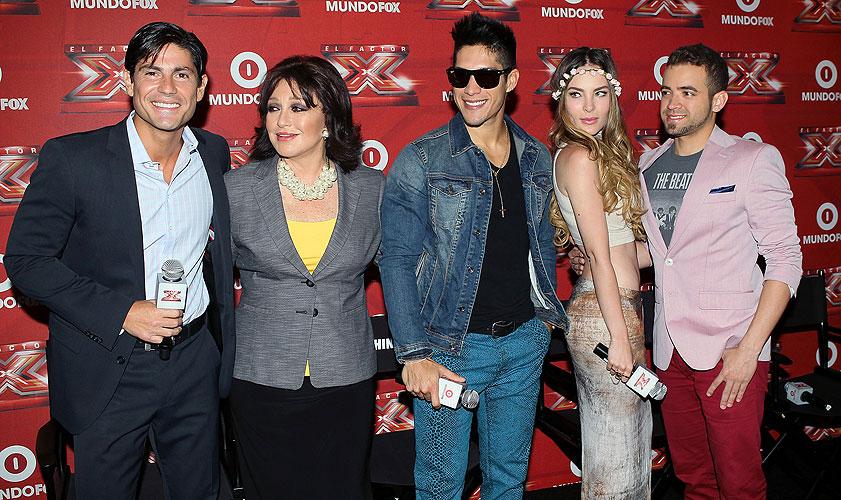 Poncho de Anda, Angélica María, Chino, Nacho, Chino y Nacho, Belinda