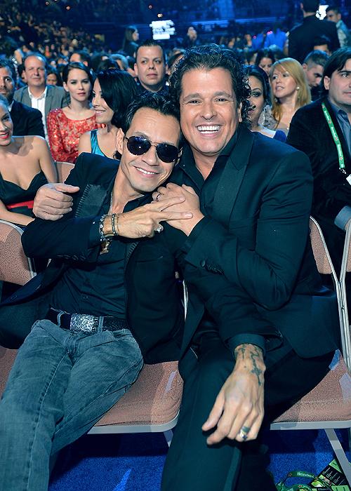 Marc Anthony, Carlos Vives, Latin Grammy 2013