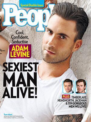 Adam Levine, Sexiest Man Alive, hombre más sexy 2013