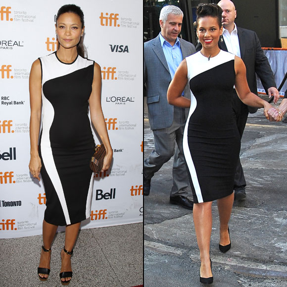 Thandie Newton; Alicia Keys, Dos mujeres