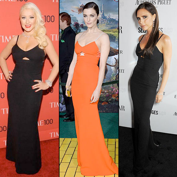 RACHEL WEISZ, Christina Aguilera, Victoria Beckham, Dos mujeres