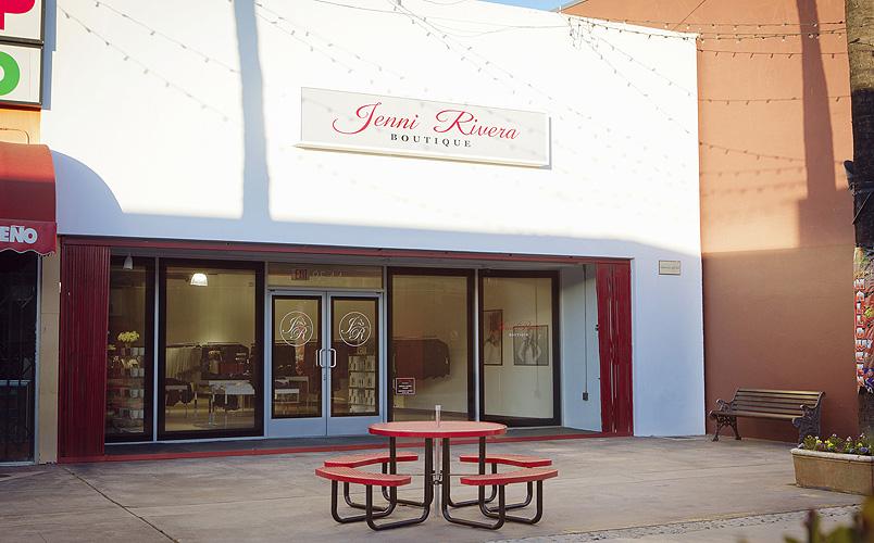 Jenni Rivera, boutique