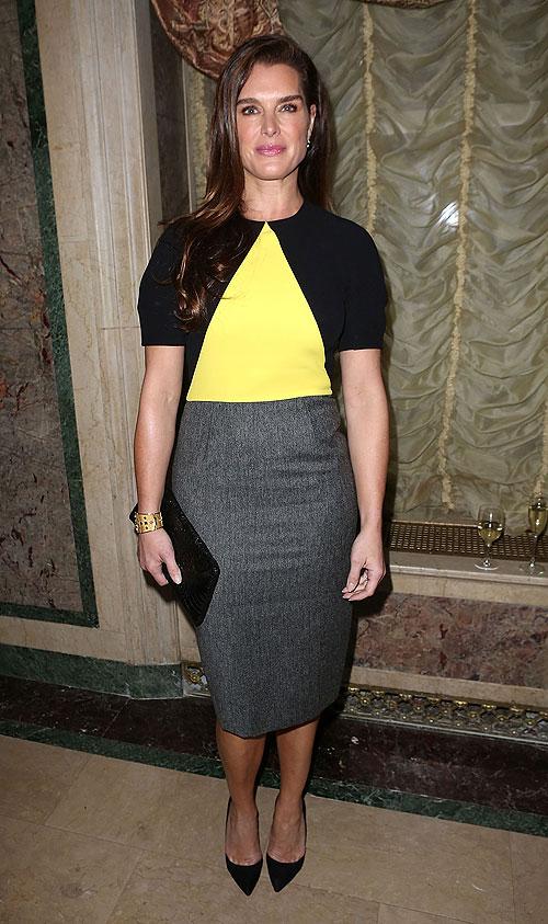 Brooke Shields, El look del día