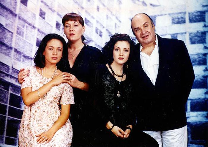 Karla Álvarez, Anna Silvetti, Sergio Bustamante
