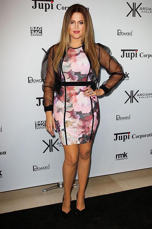 Khloé Kardashian, El look del día