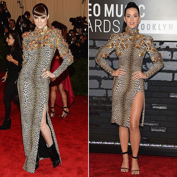 Coco Rocha, Katy Perry, Dos mujeres un vestido