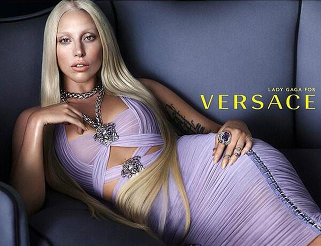 Lady Gaga imagen Versace