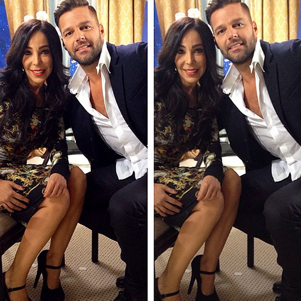 Gelena Solano, Ricky Martin, Sin filtro