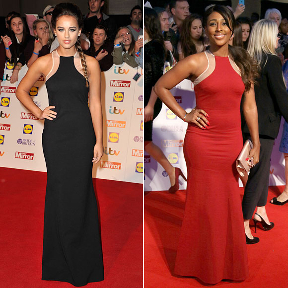 Georgia May Foote, Alexandra Burke, Dos mujeres