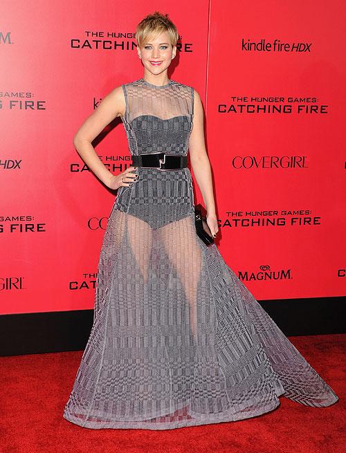 Jennifer Lawrence, El look del día