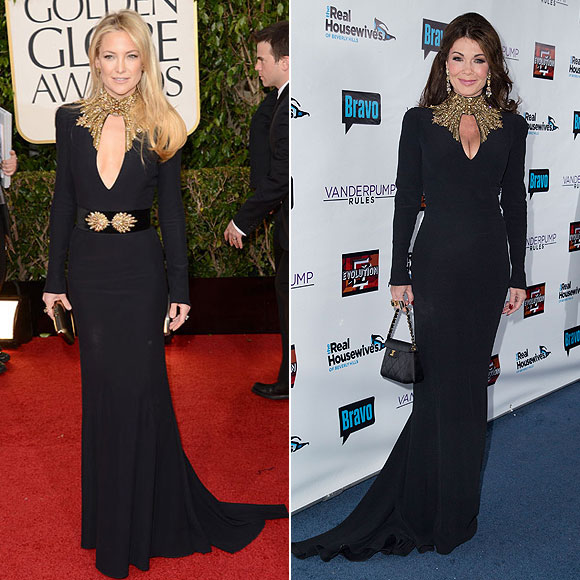 Kate Hudson, Lisa Vanderpump, Dos mujeres un vestido